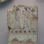 BM:asyrian wall painting